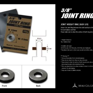 Miki Joint Weight Ring