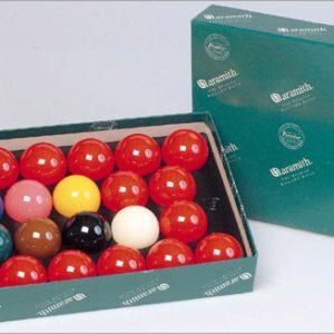 Aramith 52.4mm Premier Snookerbälle