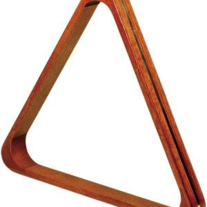 Dreieck dunkles Holz – Pool