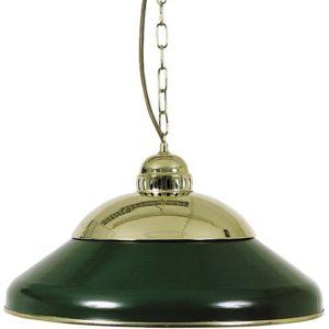 Einzelne Lampe Dunkelgrün