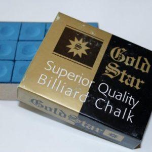 Goldstar Kreide Blau 12-er Packung