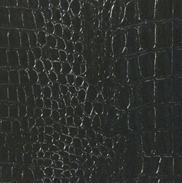 Tiger Ledergriffband Hornback Lizard Schwarz