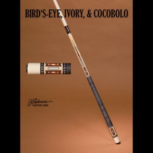 Ltd. 02 Birds-eye, Cocobolo & Ivory