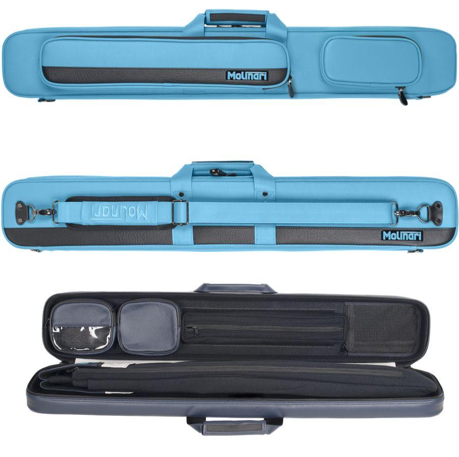 Molinari Flat Bag 2×4 Cyan