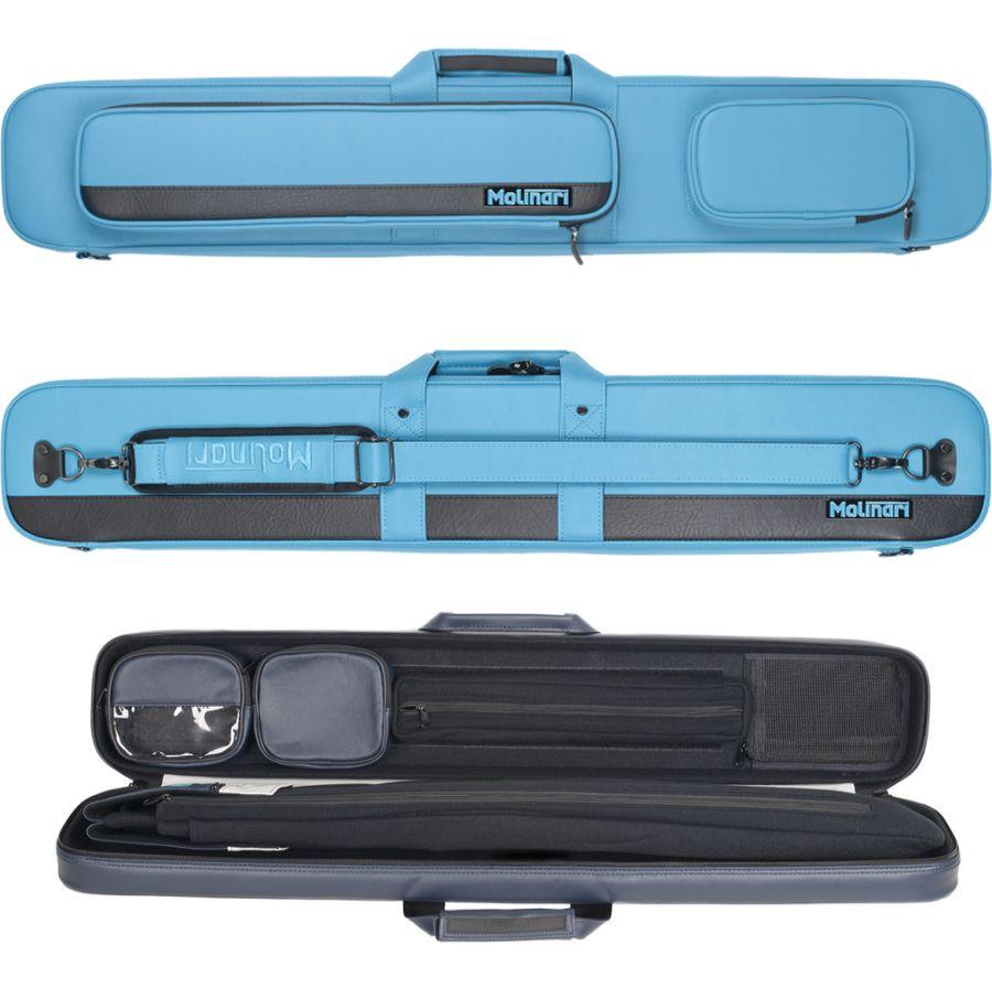 Molinari Flat Bag 3×6 Cyan