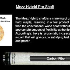 Mezz Hybrid Pro II Oberteil 3/8×10 Gewinde