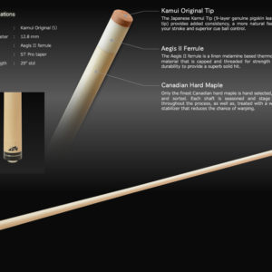 Mezz Standard Maple Oberteil Standard Joint