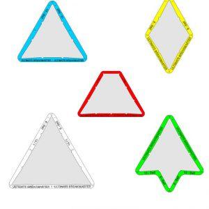 Aufbauhilfen / Dreiecke / Folien